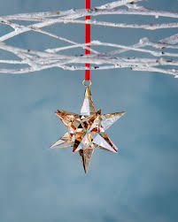 swarovski golden shadow ornament