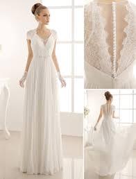 milanoo robe de mari e wholesale cheap v neck wedding dresses gowns for brides from china