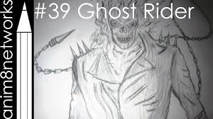 drawing ghost rider youtube