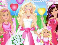 Barbie Wedding Room Decoration Games Barbie And Elsa Wedding Crashers Games