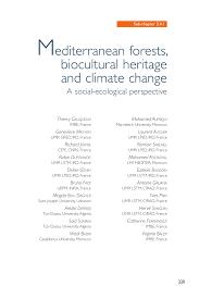 Inno Infr by The Mediterranean Region Under Climate Change A Scientific