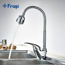 kitchen faucet set 1 set free shipping frap true brass kitchen faucet mixer cold and