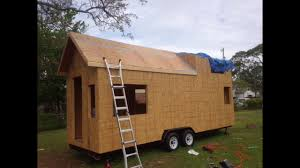 how to build a tiny house episode 16 wall u0026 roof framing