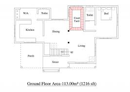 house floor plans free house plan superior house plans square ground floor