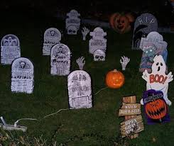 Outdoor Halloween Decorations Pinterest by Cemetery Decorating Inspiration Halloween Party Ideas Holiday