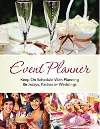 event planner birthday party planning checklist notebook organizer journal for