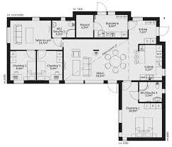 plan maison 3 chambre plan maison 3 chambres plain pied impressionnant plan rdc maison