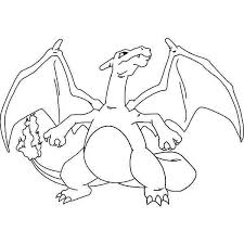 awesome drawing charizard coloring netart