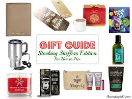 Stocking Stuffer Ideas For Him Gift Guides U2014 According To D