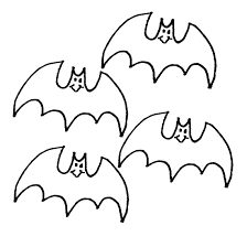 pictures of bats for kids to color u2013 fun for christmas