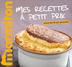 marmitons recettes cuisine marmiton mes recettes à petit prix exclusivité livre belgique