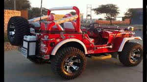 open jeep modified dabwali top 10 best modified jeeps in india youtube