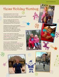 christmas christmas newsletter template
