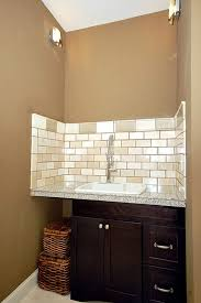 Utility Sink Backsplash Self Rimming Utility Sink With Two Hole - Utility sink backsplash