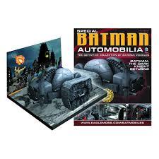eaglemoss publications batman the returns bat tank