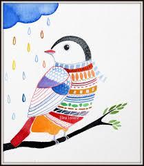 Bird Decor For Nursery Bird Wall Home Decor Nursery Decor By Sublimecolors