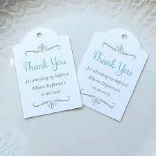baptism favor tags custom wedding favor tags lyfy me