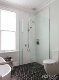 Modern Toilet by Bathroom Elegant Bathroom Design With Glass Shower Door And
