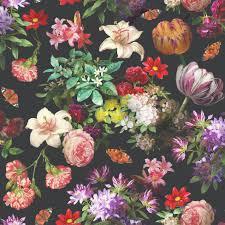 floral wallpaper brigitte muriva 601553 murivamuriva