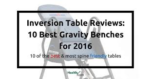can an inversion table be harmful inversion table reviews 10 best gravity benches for 2017 health form