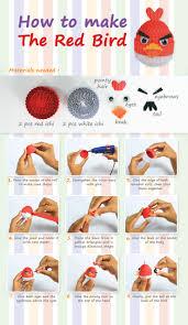 paper quilling birds tutorial how to make the red bird kokoru papier cartonner pinterest