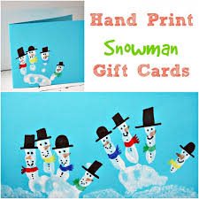 gift cards for kids kids print snowman christmas card owl