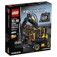 lego technic volvo ew160e 42053 toys