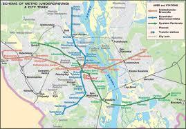 Kiev Map Kiev Transport Map Map Of Kiev Transport Ukraine