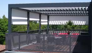 pergola balkon terrassenüberdachung auf balkon brustor