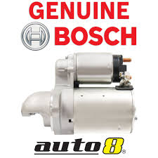 genuine bosch starter motor to fit holden combo van sb xc 1 4l 1 6