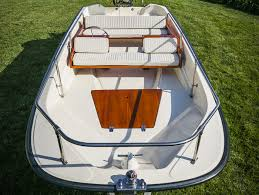 boston whaler 15 u0027 super sport deluxe cushion set ow