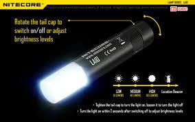 Turn The Light On La10 Mini Camp Light With Magnetic Tail Cree Xp G2 S3 Led 135