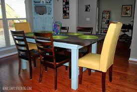 pottery barn inspired farmhouse table diy simply elliott