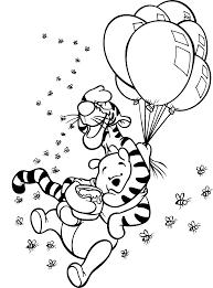 pooh u0026 tigger balloons tattoo pinterest u2013 pilular u2013 coloring pages
