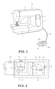 patent us20070256618 foot controller for sewing machine and
