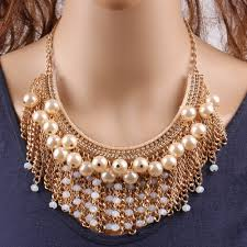 big fashion pearl necklace images 2018 new arrival design fashion pearl necklace big chunky pendant jpg