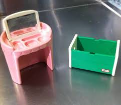 Little Tikes My Size Barbie Dollhouse by Little Tikes Dollhouse Furniture Retired Pink Vanity U0026 Green Toy