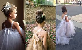 flower girl hair welcome to bridal trend