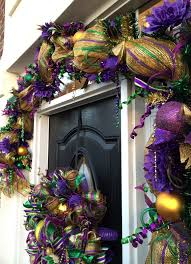 mardi gras deco mesh learn to make a mardi gras garland by www