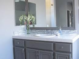how to refinish bathroom cabinets refinishing bathroom vanity gel stain home design ideas refinish