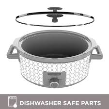black decker 7 quart slow cooker with 3 heat settings sc1007d