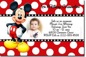 mickey mouse birthday invitations design mickey mouse birthday invitations techllc info