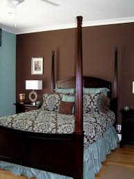 Best Paint Color For Bedroom With Dark Brown Furniture Bedroom Painting Ideas For Brown Furniture House Design And Planning