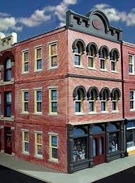 3 story building granato s grocery 3 story building kit o scale model railroad