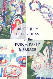 Fourth Of July Tablecloths by 4th Of July Decor Ideas For The Porch Party U0026 Parade Thumbtack