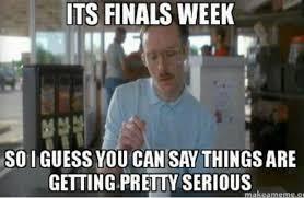 College Finals Meme - college high school finals week meme 18 the foghorn news