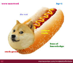 Doge Meme - hot doge by mrdalekinfinitesw meme center