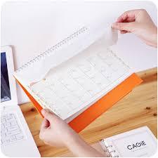 Desk Daily Calendar 2017cute Desk Calendar Cartoon Scheduler Agenda Planner Organizer