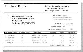 cover letter example of purchase order letter sample of letter