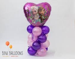 frozen balloons and elsa frozen balloon centerpiece kit diy frozen balloon